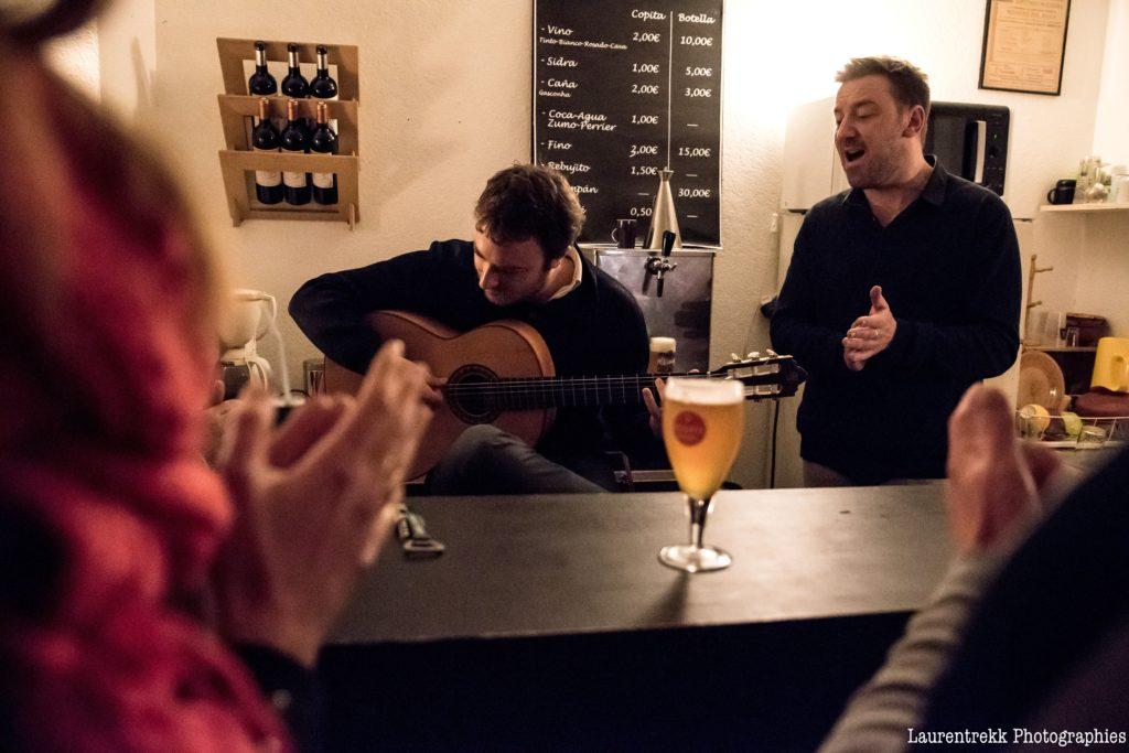 Ecole flamenco Bordeaux et bar associatif espagnol copas y compas