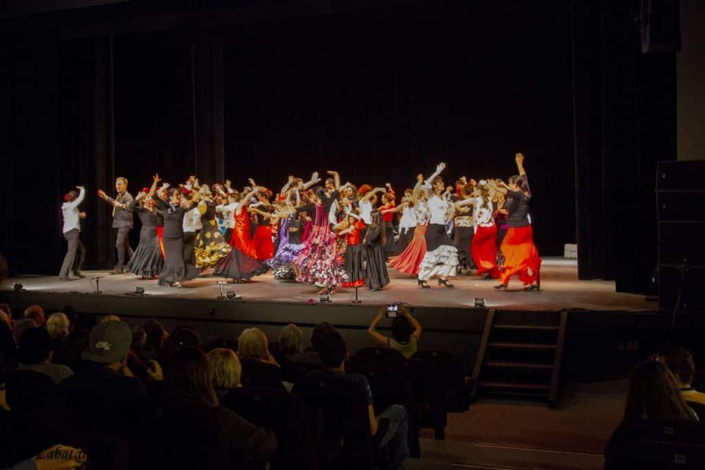gala flamenco copas y compas à bordeaux