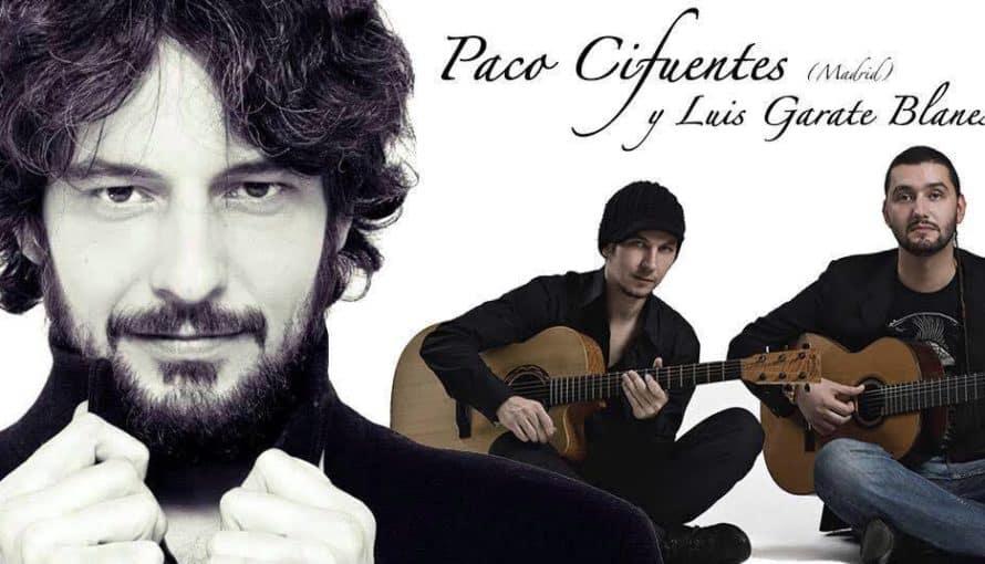 Affiche Concert flamenco Paco Cifuentes Bordeaux