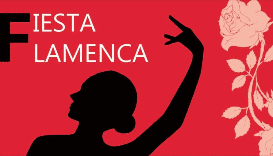 Affiche spectacle flamenco Copas y Compas