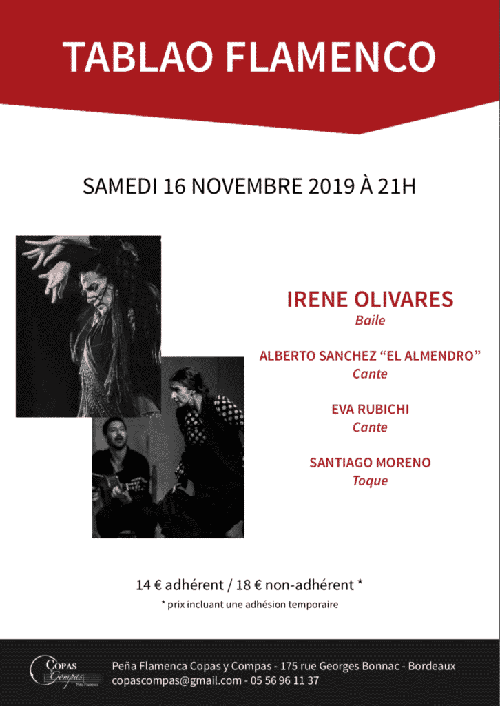 spectacle flamenco bordeaux