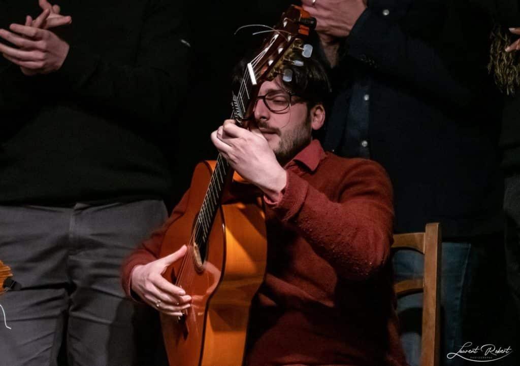 david ceccarelli prof guitare flamenco bordeaux