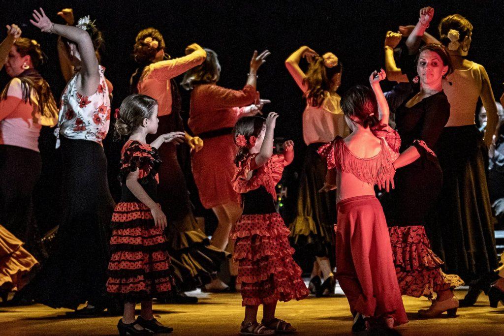 flamenco enfant bordeaux