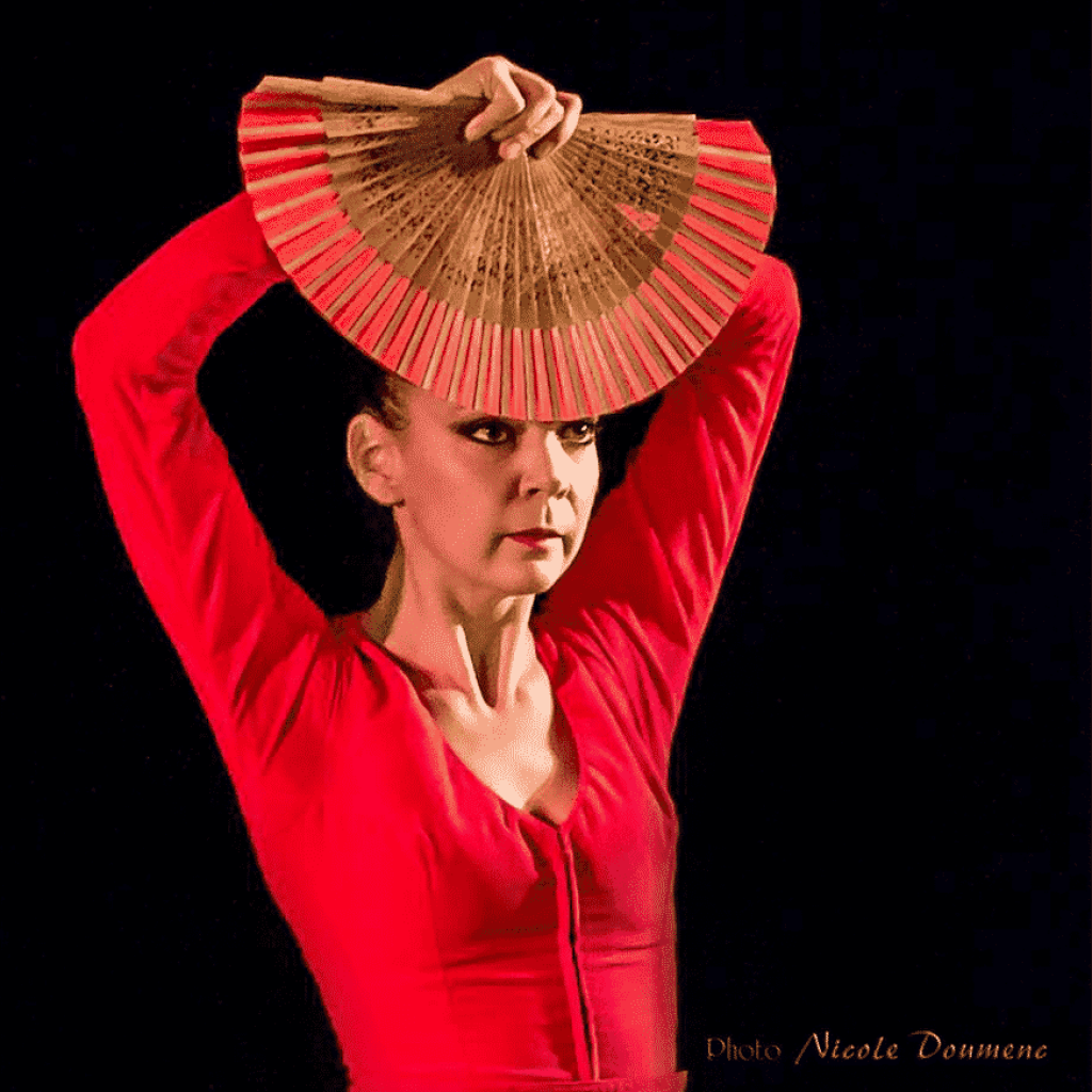 Samantha Alcon cours flamenco copas y compas