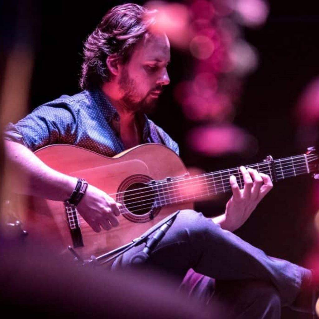 Guillermo Guillencours guitare flamenco copas y compas